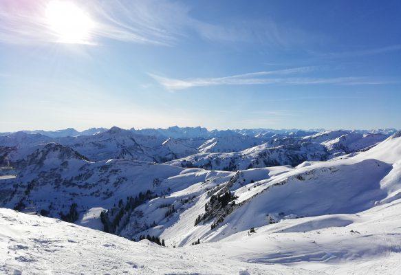 Den Winter in den Bergen genießen!